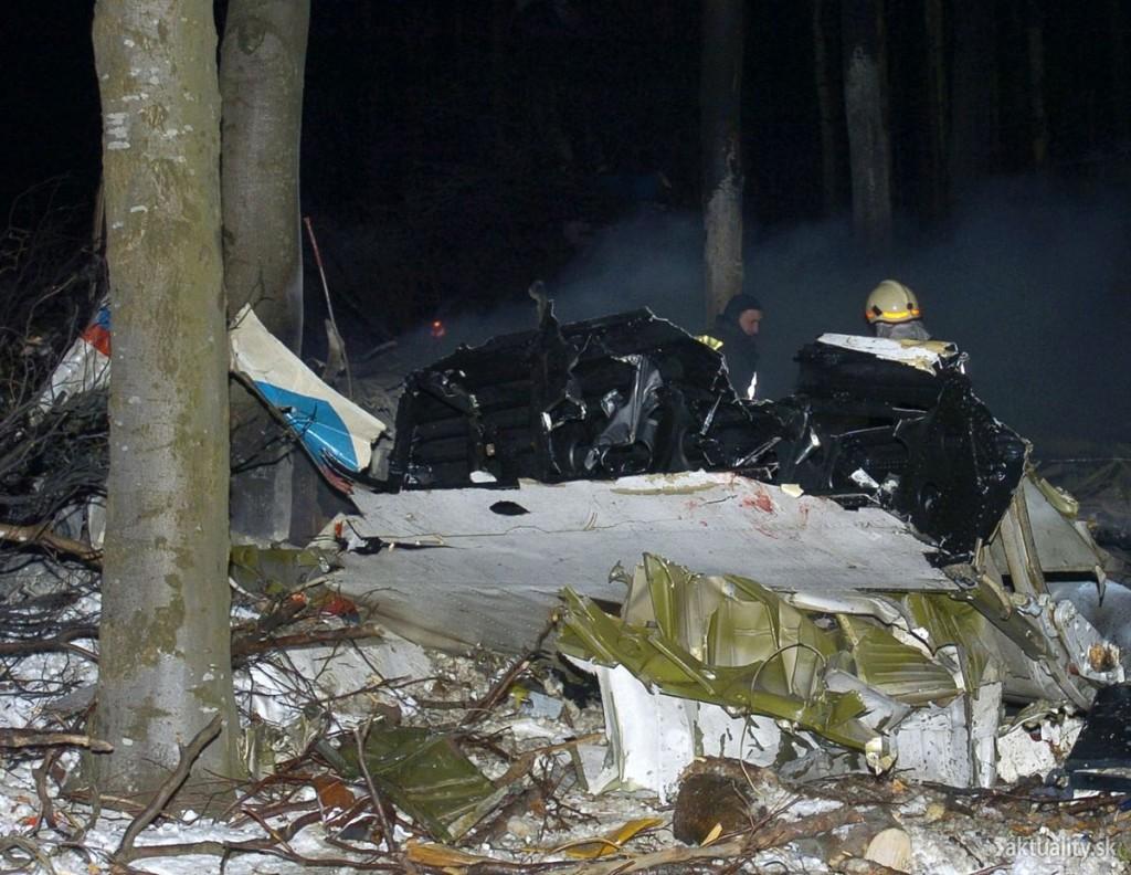 Tragédia lietadla pri obci Hejce